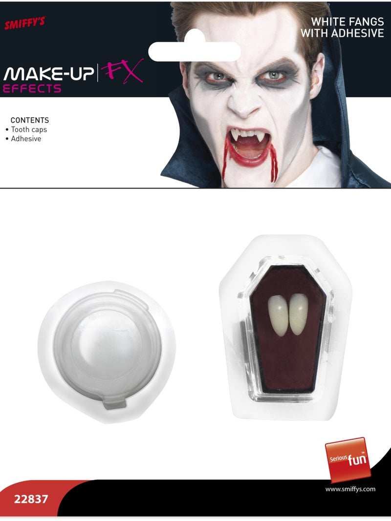Vampire Fangs, White