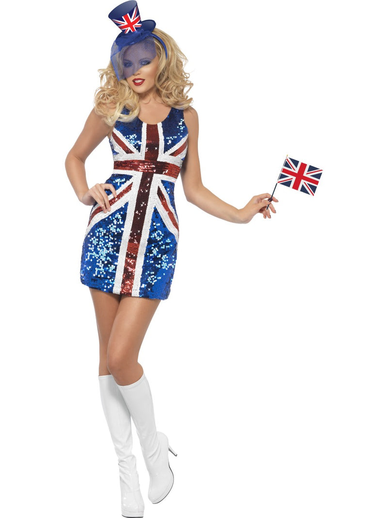 Fever All That Glitters Rule Britannia Costume