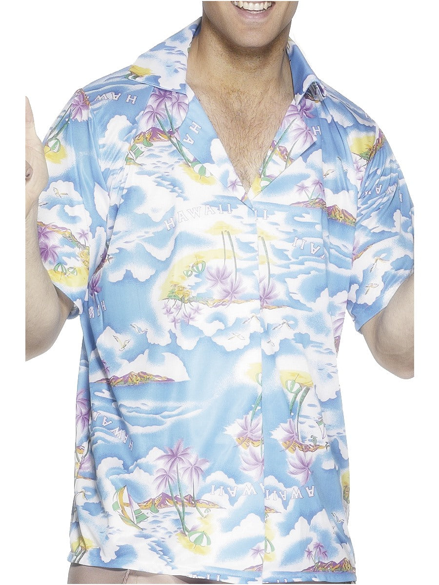 Hawaiian Shirt, Blue