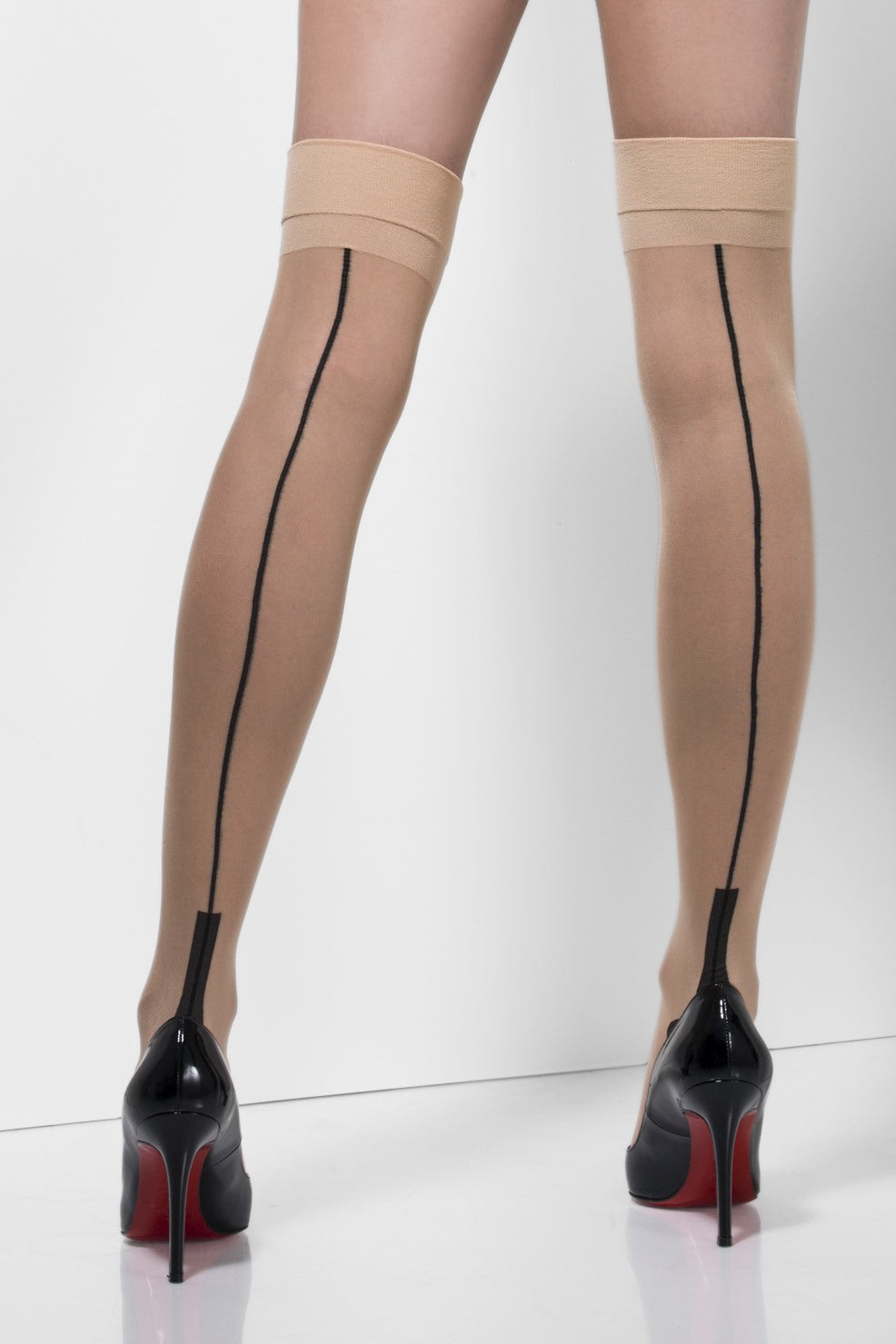 Sheer Seamed hold Ups