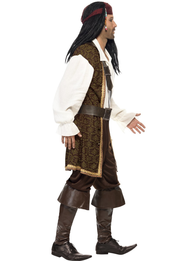 High Seas Pirate Costume, Brown