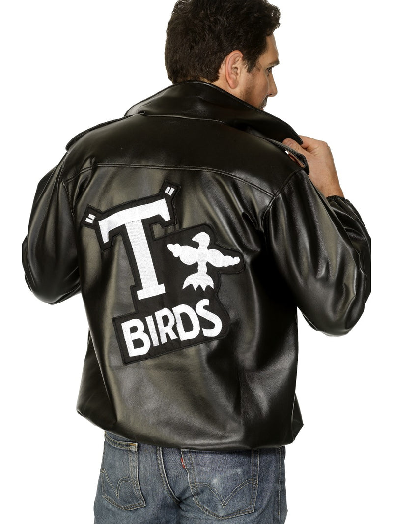T-Bird With Embroidered Logo Jacket, Black