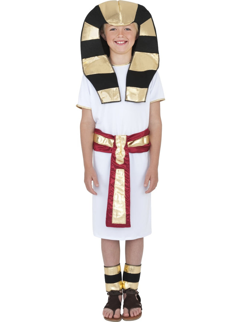 Egyptian Boy Costume, White