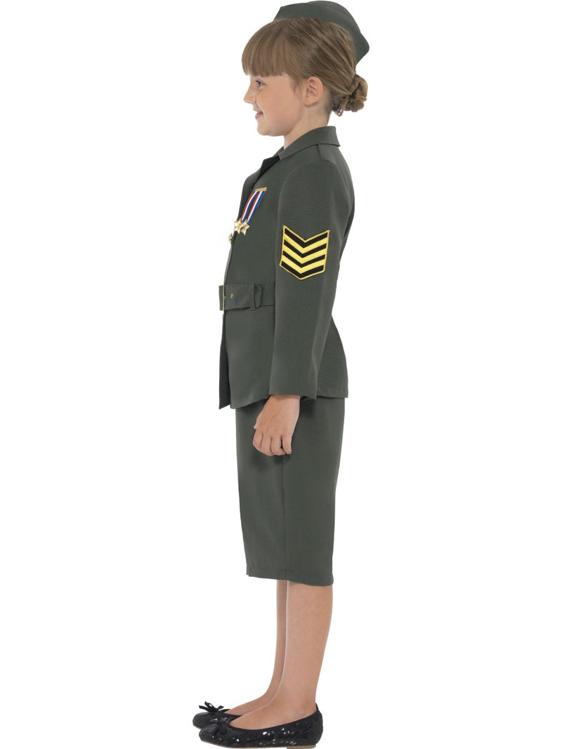 WW2 Army Girl Costume
