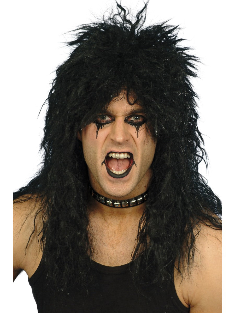 Hard Rocker Wig,Black