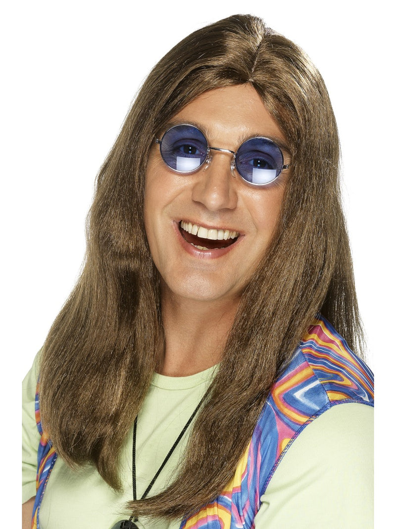 Neil Hippy Wig ,Brown