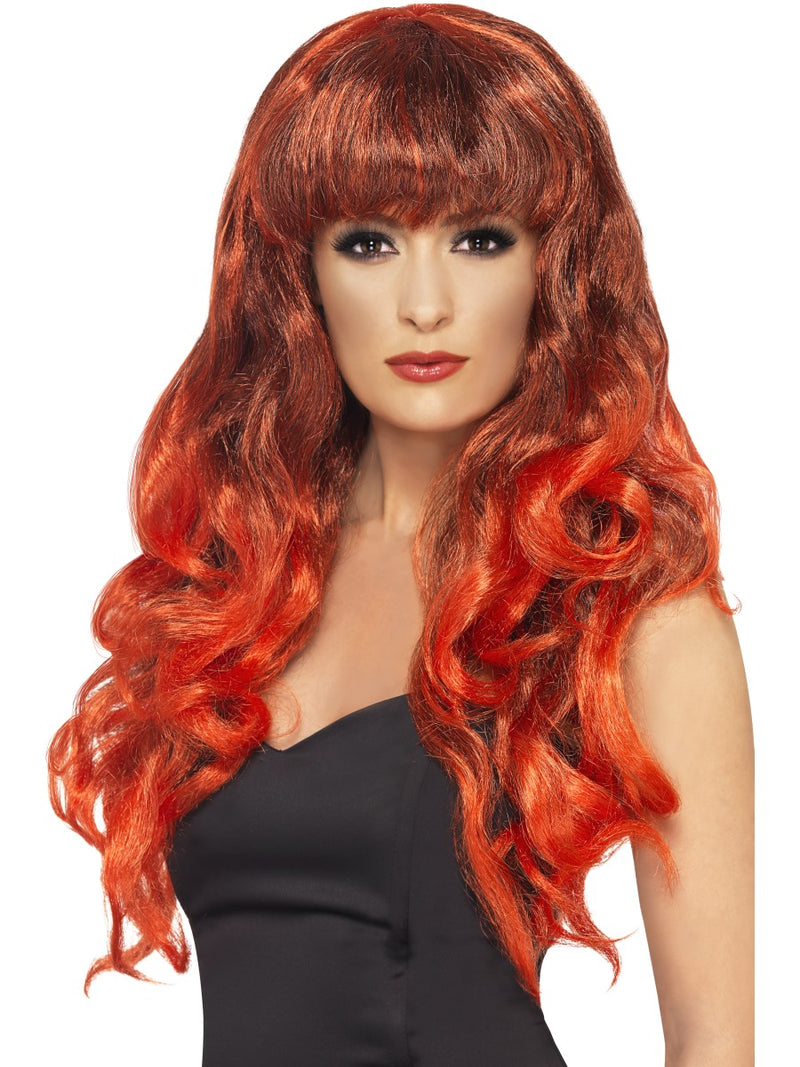 Siren Wig Red Black