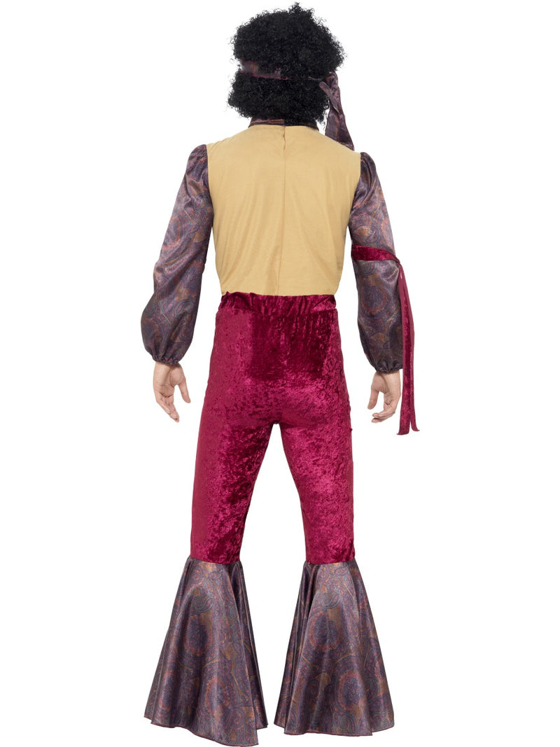 70's Psychedelic Rocker Costume with Flared trousers