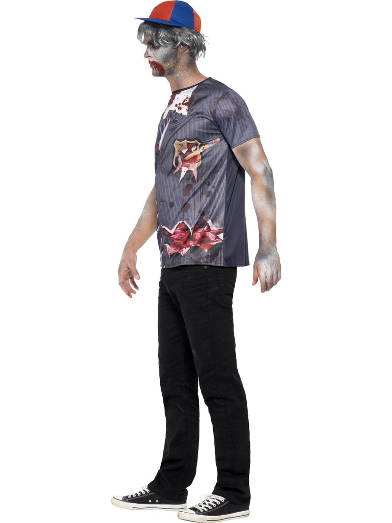 Zombie School Boy T-Shirt and Cap