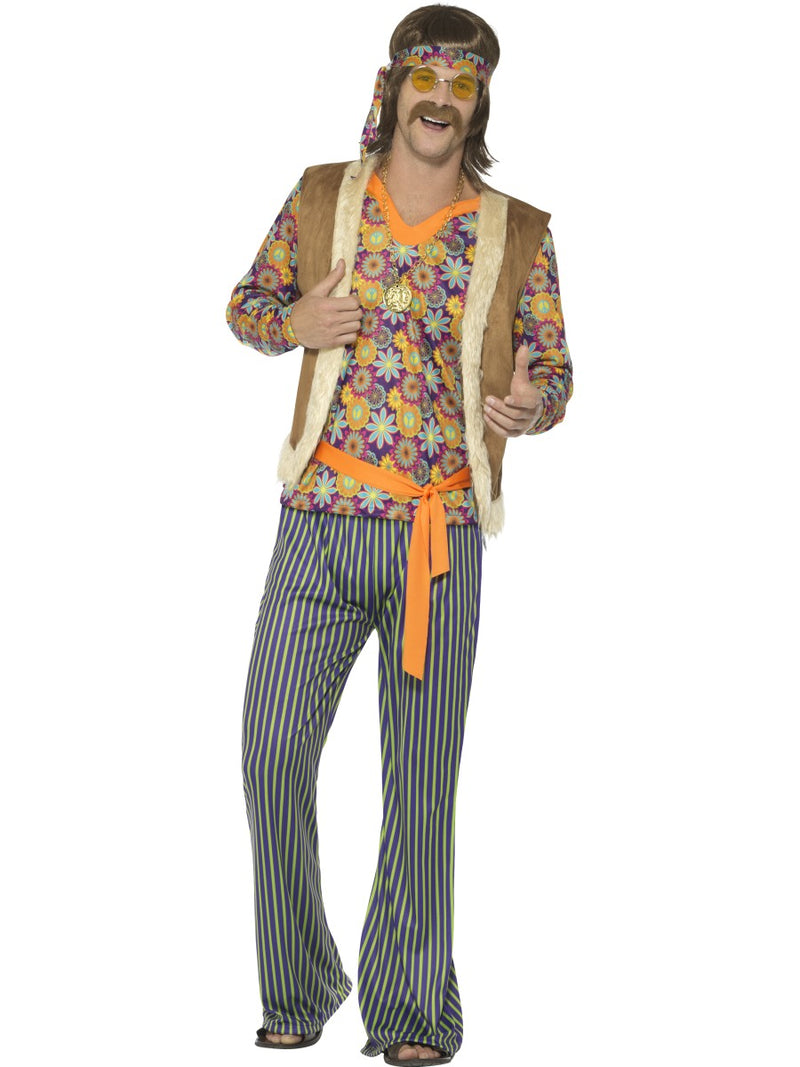 60's Singer Costume, Male, with Top, Waistcoat