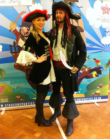 Costume Hire Adults Pirates