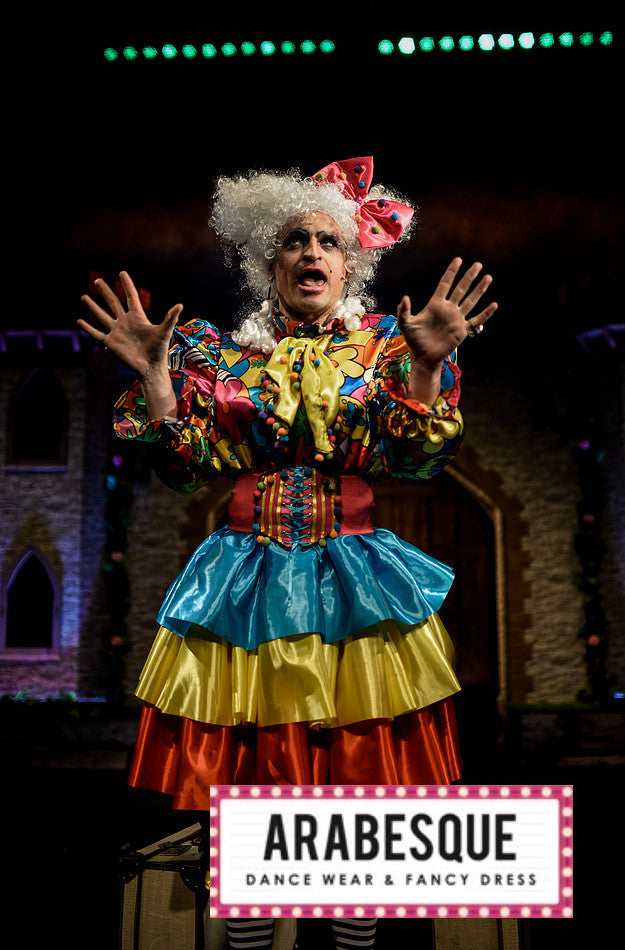 Floral Pantomime Dame Costume