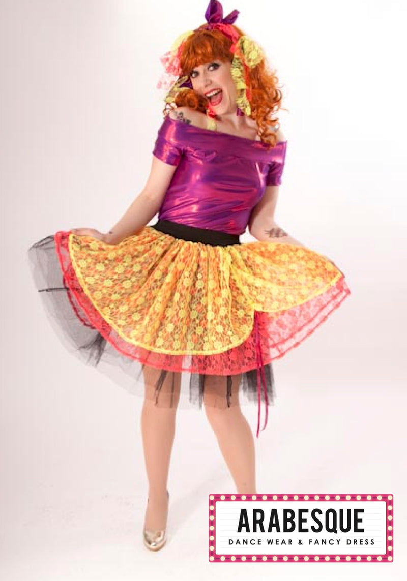 Ladies 1980's Cindy Lauper Costume