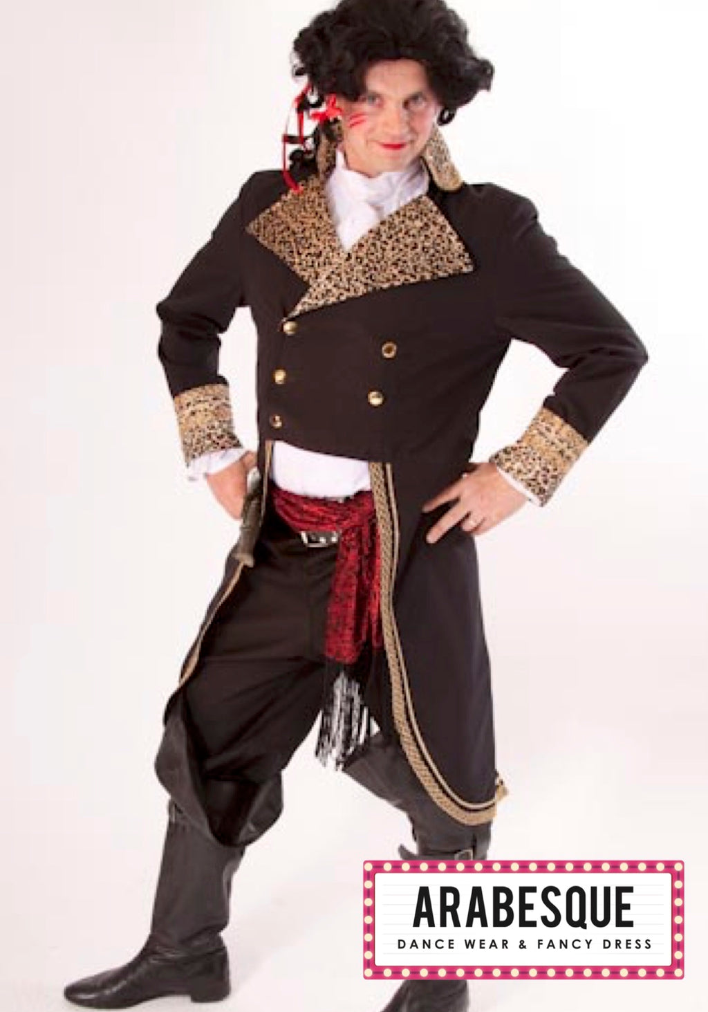 Adam Ant 1980's Costume