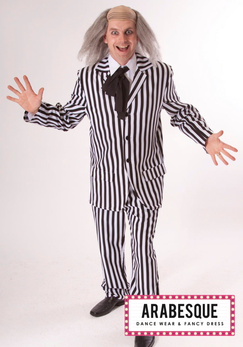 Adult Mens Beetlejuice Costume