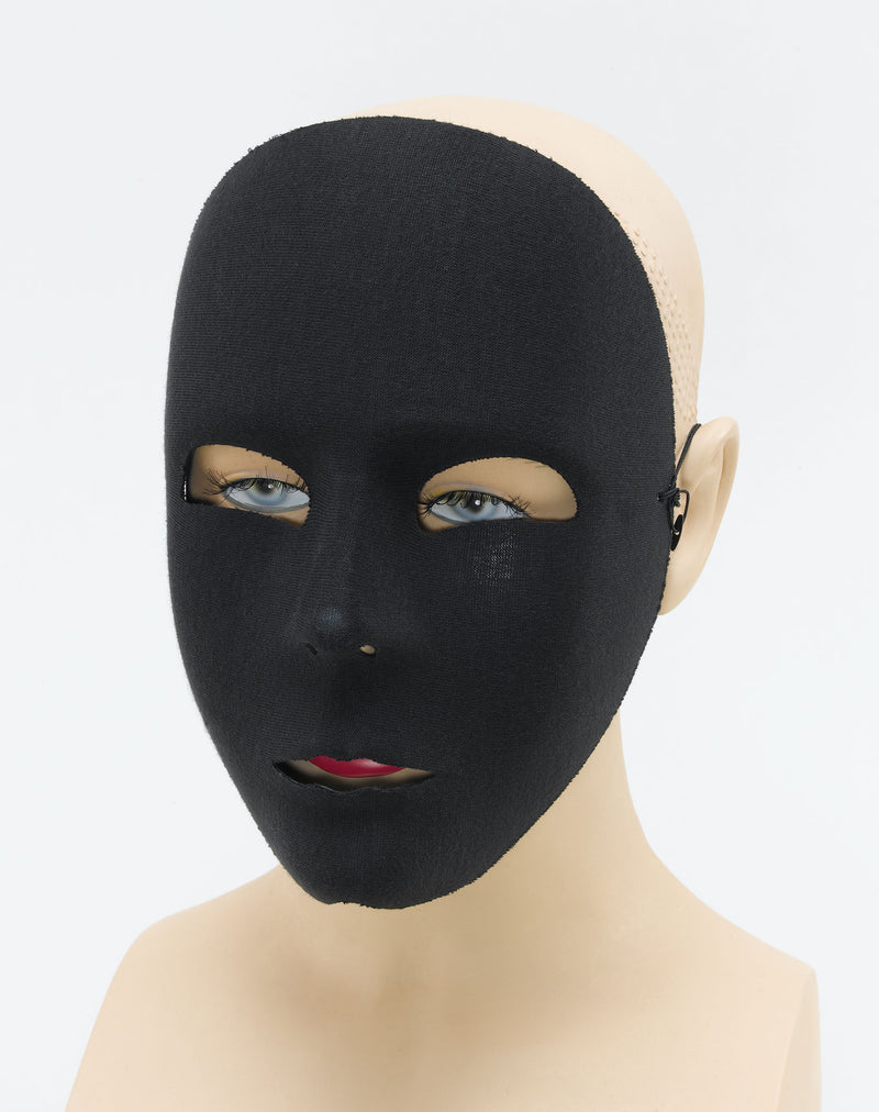 Black Face Mask - Plain