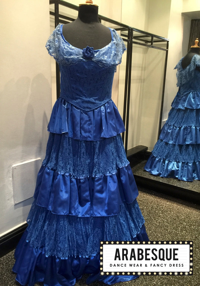 Royal Blue Ballgown