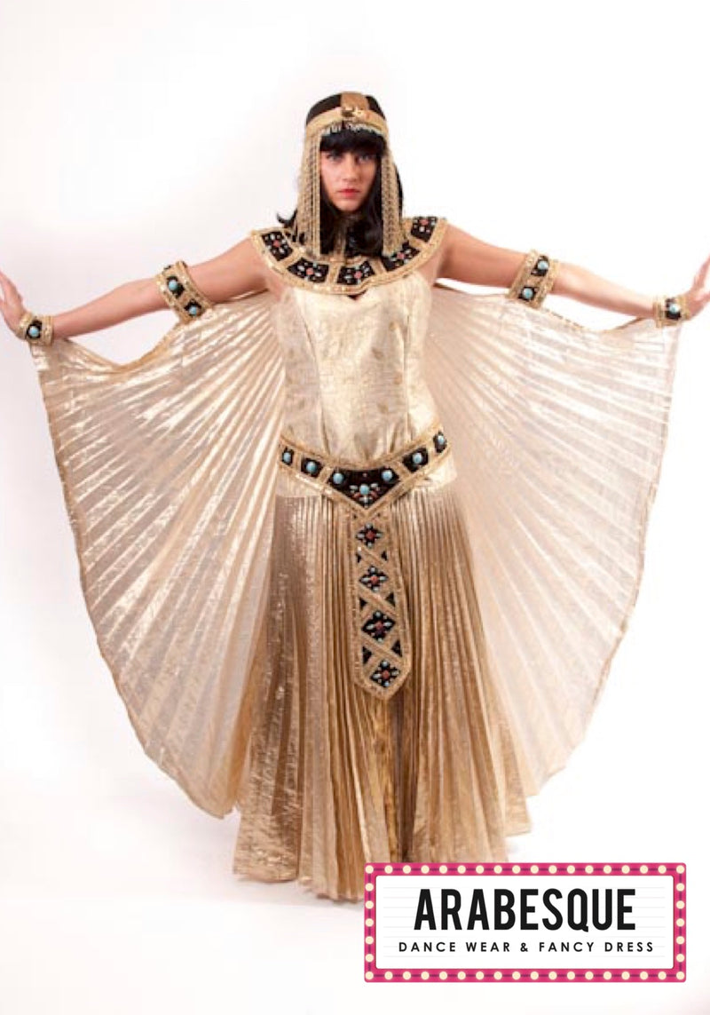 Gold Cleopatra Costume Arabesque Costumes
