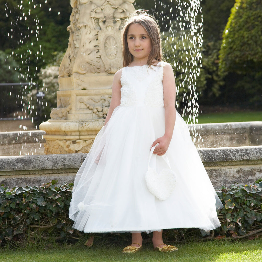 Floral Ballgown - Ivory