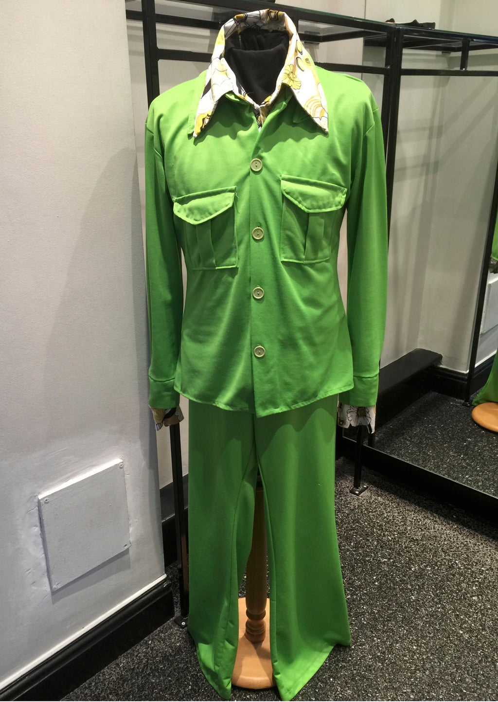 1970s Green Suit