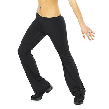 Hipster Bootleg Jazz Pants - Black