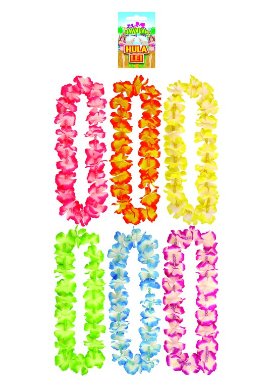 Hula Lei with Beads