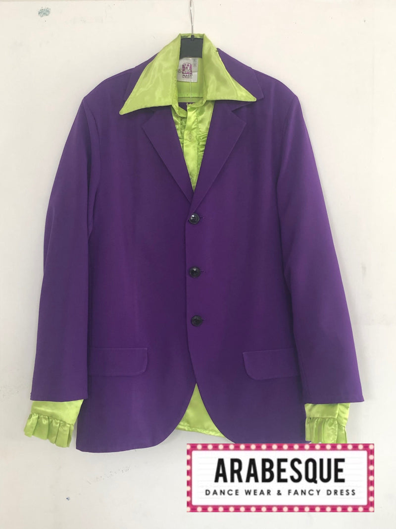 1970s Purple Pimp Suit