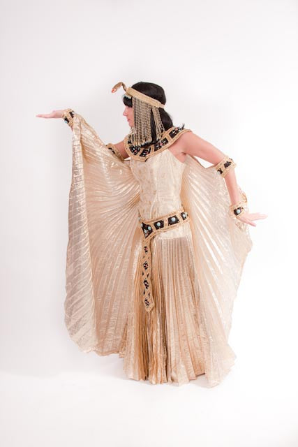 Gold Cleopatra Costume