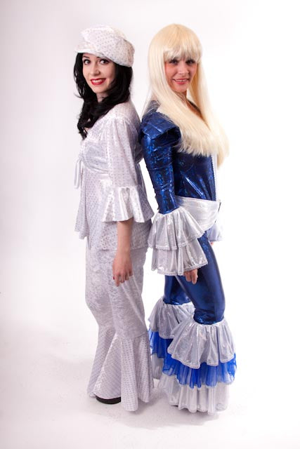 Ladies 1970's Abba Costume