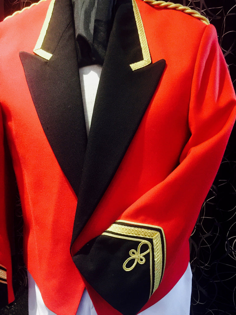 Red Circus Uniform Jacket
