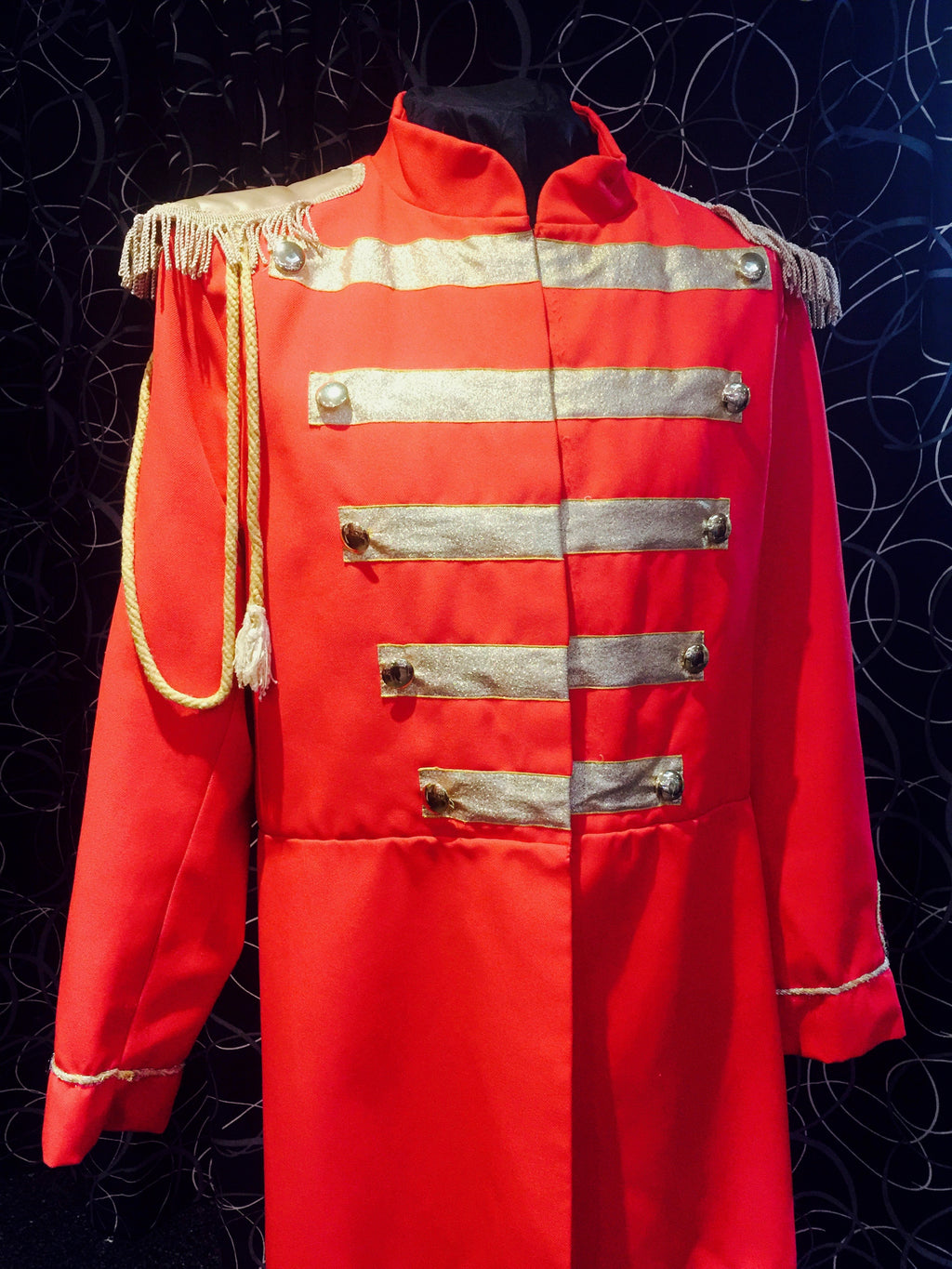 Red St Peppers Suit - Circus Style Jacket
