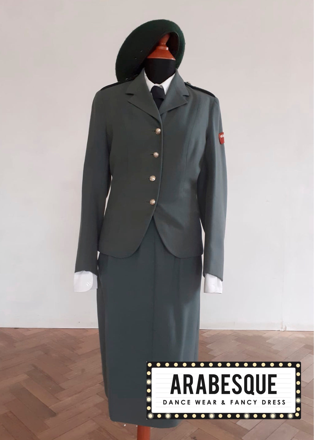 Ladies Royal Army Corp Uniform