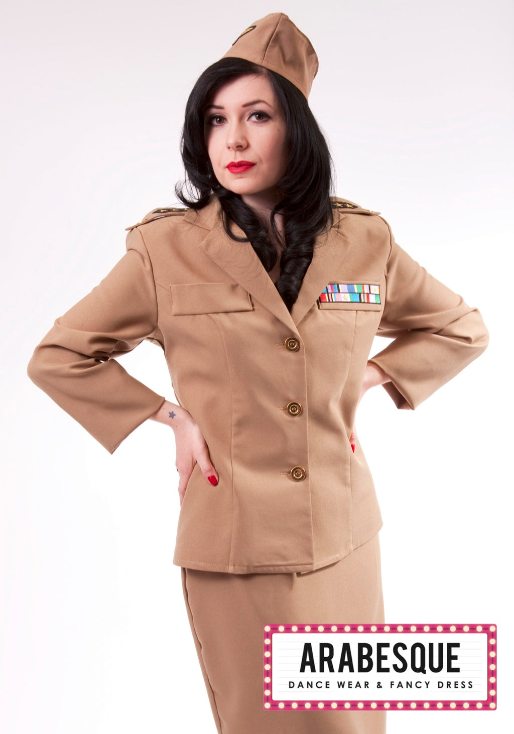 Ladies American GI Uniform