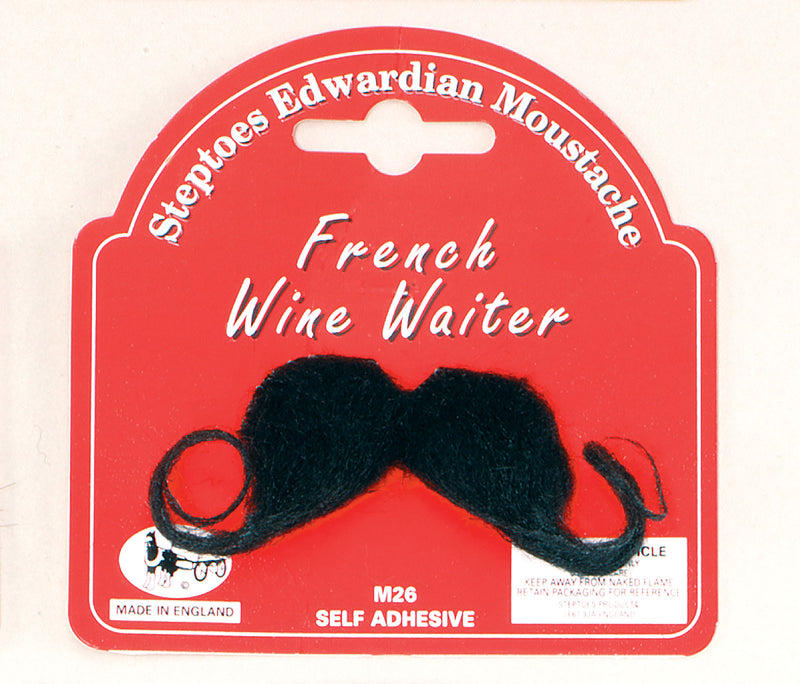 French Waiter Moustache