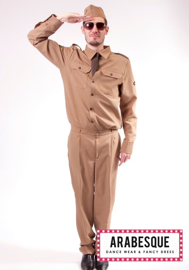 Mens American G.I Uniform