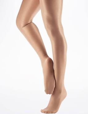 Opaque Ultra Shimmer Tights - Suntan