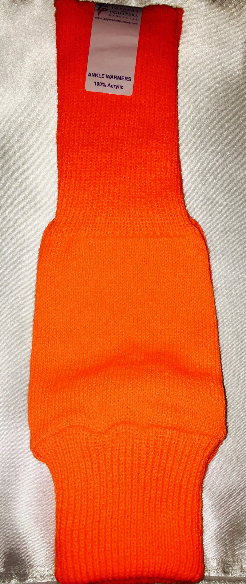Adults Orange Ankle Warmers