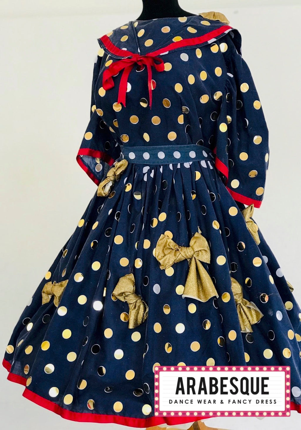 Polka Dot Panto Dame Dress