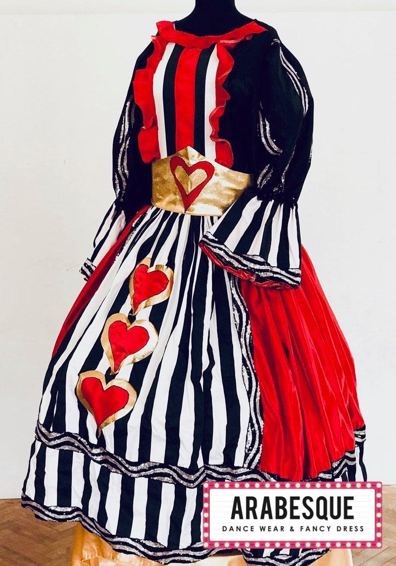 Pantomime Dame Queen Of Hearts