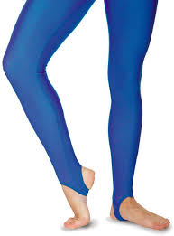 Royal Blue Stirrup Leggings