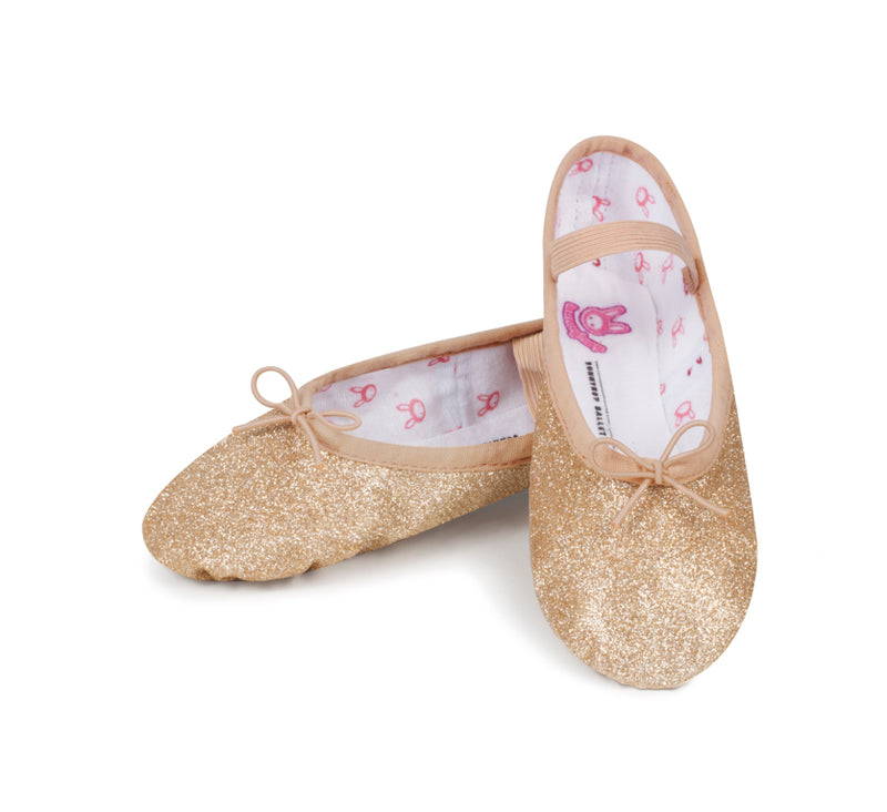 Bloch Gold Glitter Ballet Shoe