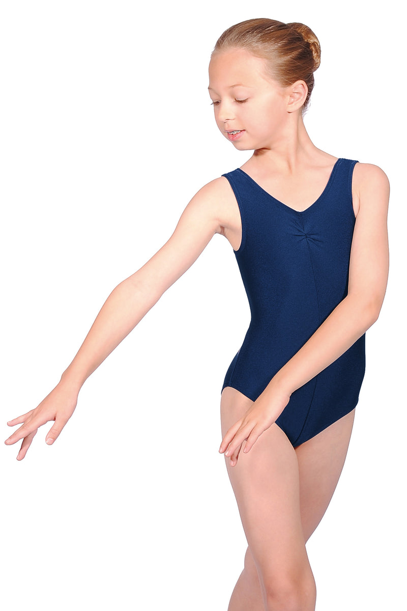Roch Valley sleeveless leotard - navy