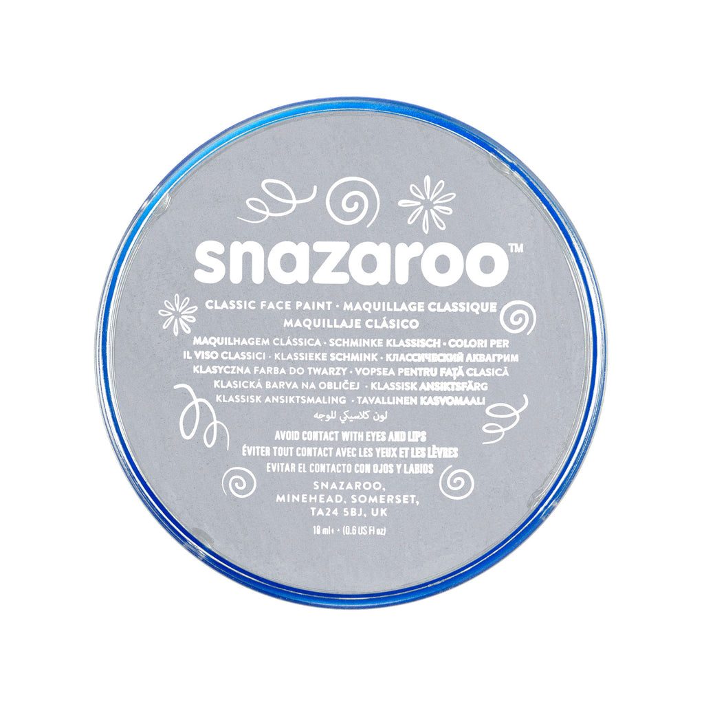 Snazaroo Face Paint - Light Grey