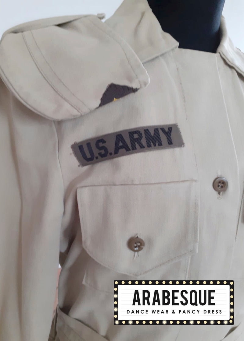 Ladies American U.S. Army Uniform