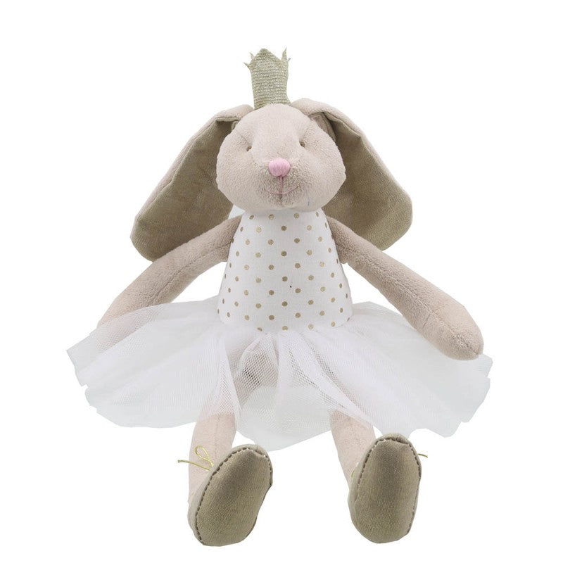 Bunny Dancer - Gold - Wilberry Gift - Front