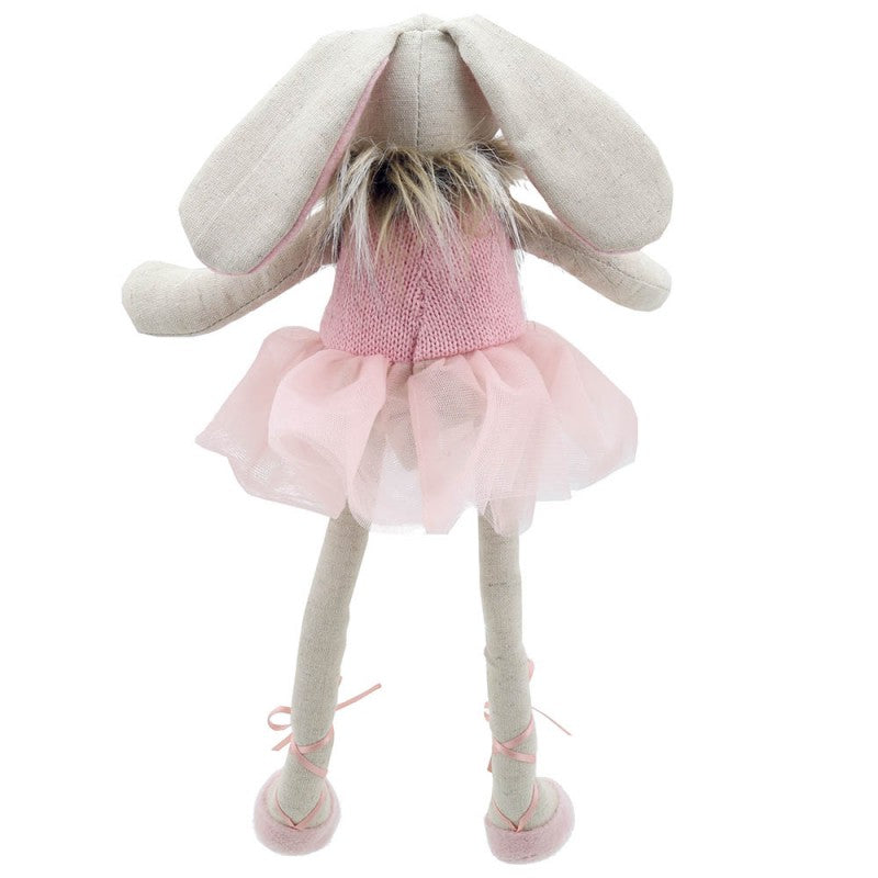 Bunny Dancer - Pink - Wilberry Gift - Back