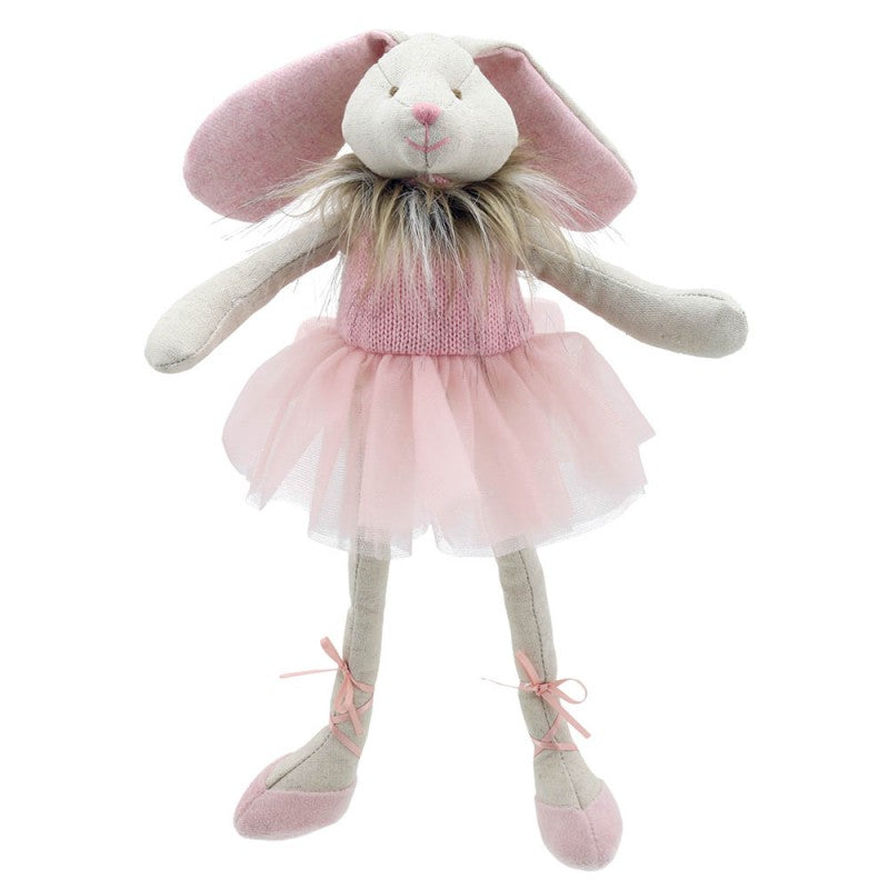 Bunny Dancer - Pink - Wilberry Gift - Front