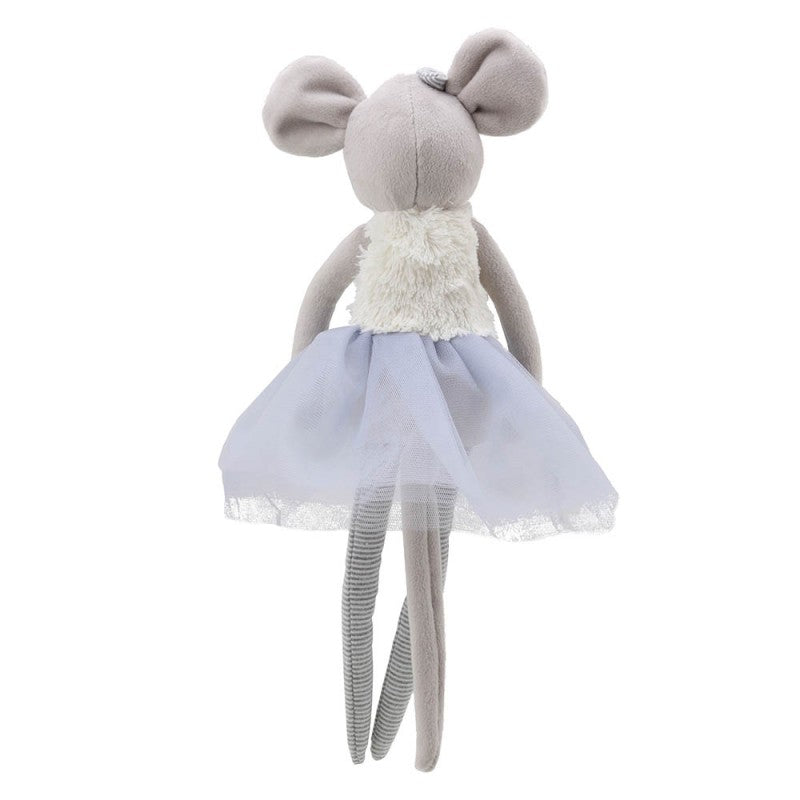 Mouse Dancer - Blue - Wilberry Gift - Back