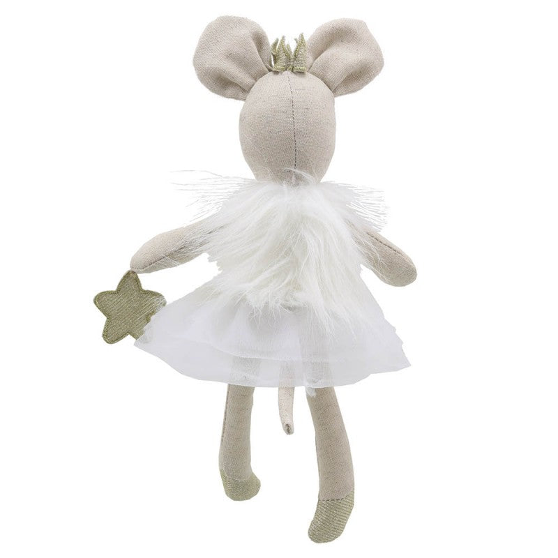 Mouse Dancer - White - Wilberry Gift - Back