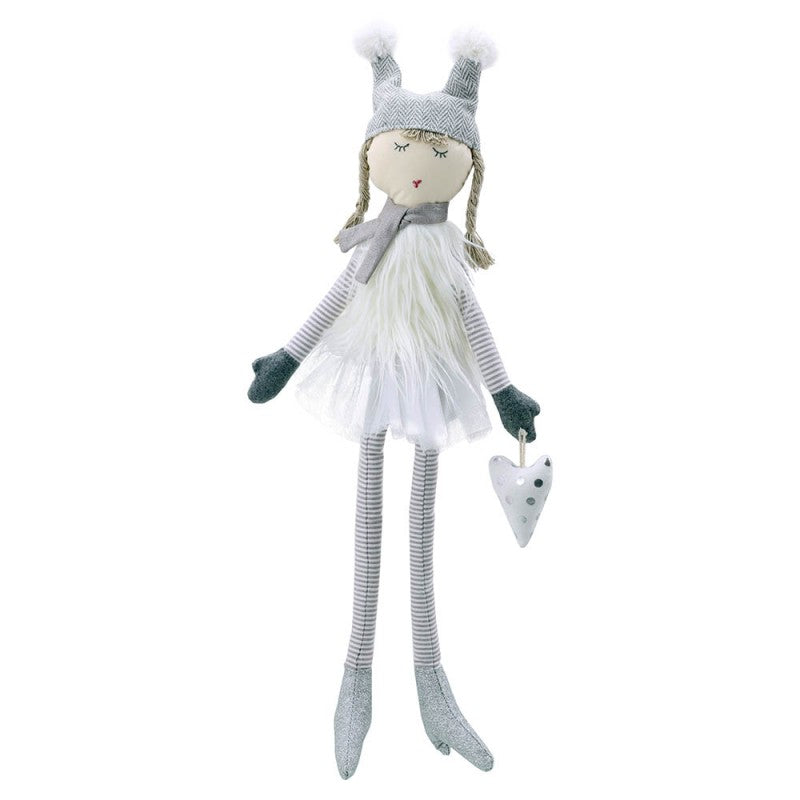 Doll - White - Large -  Wilberry Gift - Front